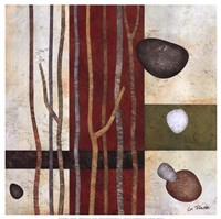 "Sticks And Stones V by Glenys Porter - 12"" x 12"" - $13.99"
