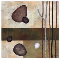 "Sticks And Stones VI by Glenys Porter - 12"" x 12"""