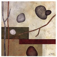 "Sticks And Stones VII by Glenys Porter - 12"" x 12"" - $13.99"