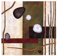"Sticks And Stones VIII by Glenys Porter - 12"" x 12"" - $13.99"