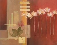"Contemporary Crimson II by Carol Robinson - 28"" x 22"""