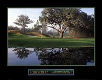 Achievement – Golf Fine Art Print