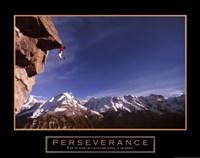 Perseverance – Cliffhanger Fine Art Print