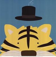 Peek-A-Boo Tiger Fine Art Print