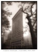 "Flatiron, New York by Timothy Wampler - 19"" x 26"""