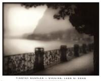 "Evening, Lago Di Como by Timothy Wampler - 25"" x 20"""