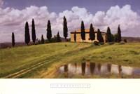 Tuscan Hillside #5 Fine Art Print