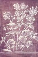 Floral Tapestry III Framed Print