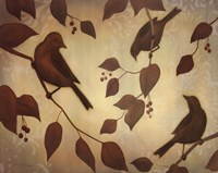 Bird Song I Fine Art Print