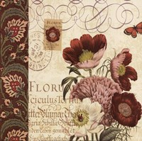 Floral Collage II Fine Art Print