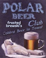 Polar Beer Club Fine Art Print