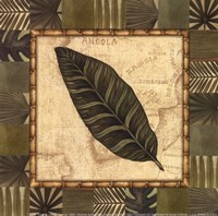 Tropical Leaf III - Special Framed Print