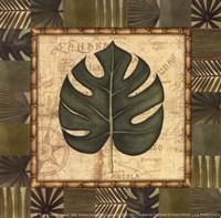 Tropical Leaf IV - Special Framed Print