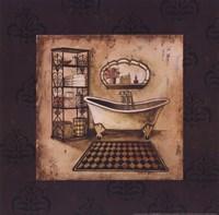 "Bath Time III by Gregory Gorham - 12"" x 12"""