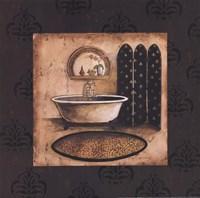"Bath Time IV by Gregory Gorham - 12"" x 12"""