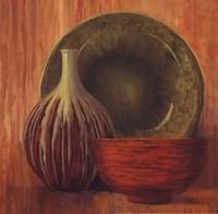 """Ceramic Study I - Petite by Jillian Jeffrey - 12"""" x 12"""""""