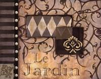 """Le Jardin - Cs by Susan Osborne - 20"""" x 16"""""""