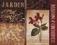 "Belle Jardin I by Kimberly Poloson - 14"" x 11"""