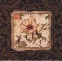 "Tropical Botanique III by Carol Robinson - 6"" x 6"", FulcrumGallery.com brand"
