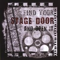 """Stage Door by Conrad Knutsen - 24"""" x 24"""""""