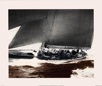 """Mariner's Museum - Rainbow's Run 1934 Vintage Maritime by Mariner's Collection - 12"""" x 10"""""""
