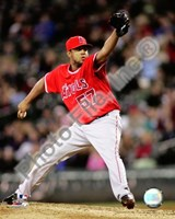 Francisco Rodriguez 2008 Pitching Action Fine Art Print