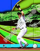 Josh Willingham 2008 Fielding Action Fine Art Print