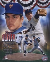 Tom Seaver - Legends Compostie; NY Mets Fine Art Print