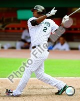 "Hanley Ramirez 2008 Batting Action by John James Audubon - 8"" x 10"", FulcrumGallery.com brand"
