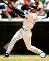Grady Sizemore 2008 Batting Action Fine Art Print