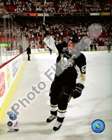 Sidney Crosby 1st Star of the Game, Game 3 of the 2008 NHL Stanley Cup Finals; #9 Fine Art Print