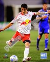 "Juan Pablo Angel 2008 Soccer Action; #114 by John James Audubon - 8"" x 10"""