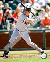 Nick Swisher 2008 Batting Action Fine Art Print