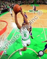 Leon Powe, Game 2 of the 2008 NBA Finals; Action #6 Fine Art Print