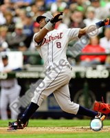 Edgar Renteria 2008 Batting Action Fine Art Print