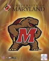 University of Maryland 2008 Logo Fine Art Print