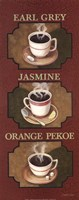 Tea Triptych Fine Art Print