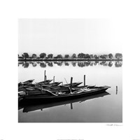 "Reflection by Harold Silverman - 16"" x 16"", FulcrumGallery.com brand"