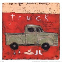 1940 Pickup Fine Art Print