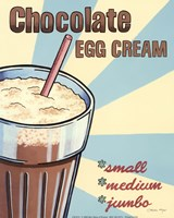 Chocolate Egg Cream Fine Art Print