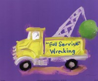 Full Service Wrecking Fine Art Print
