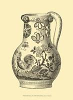 Delft Pottery II Fine Art Print