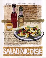 Salad Nicoise Fine Art Print