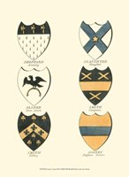 Coat of Arms III Fine Art Print