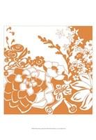 "Vibrant Tokyo Garden III by Chariklia Zarris - 13"" x 19"""