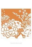 "Vibrant Tokyo Garden IV by Chariklia Zarris - 13"" x 19"""