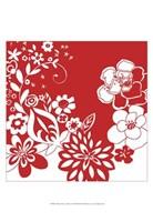 "Vibrant Tokyo Garden VI by Chariklia Zarris - 13"" x 19"""