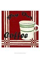 "Try Our Coffee by Chariklia Zarris - 13"" x 19"" - $12.99"