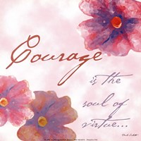 Courage Fine Art Print