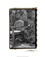 """Garden Respite II by Laura Denardo - 16"""" x 20"""""""